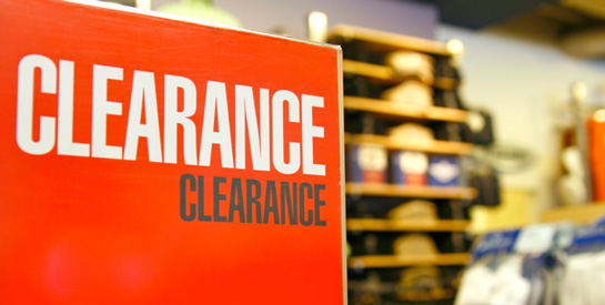 Overstock and Clearance